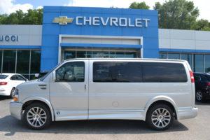 2020 Chevy Express 4X4 2500 Explorer Limited X-SE 1GCWGAFG1L1257702 Mike Castrucci Conversion Van Land