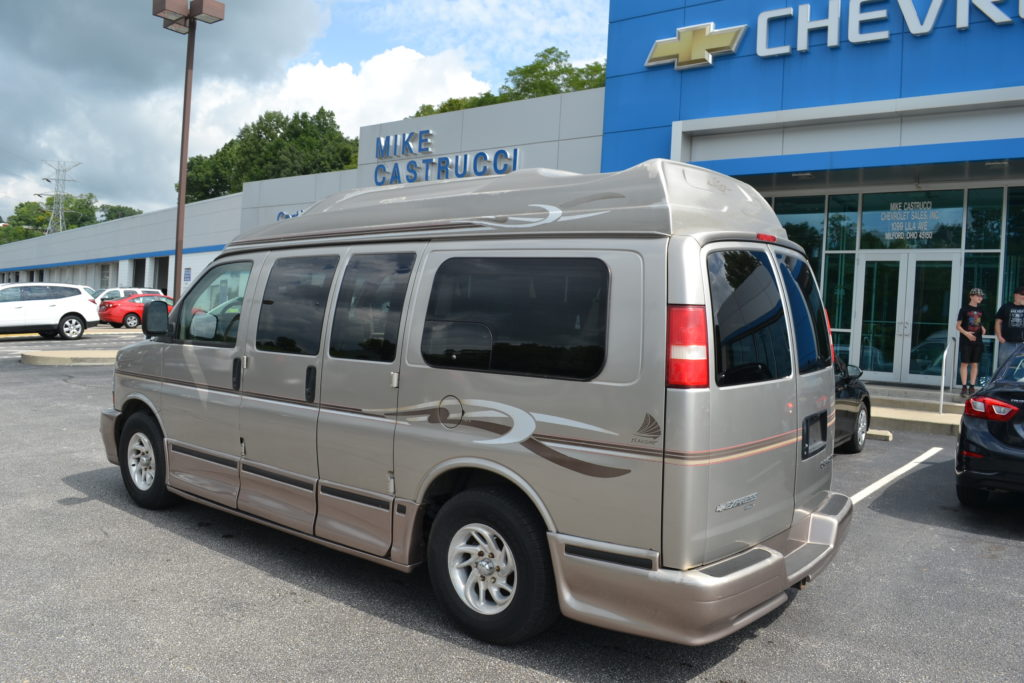 2003 Chevy Express Awd American Vans Mike Castrucci