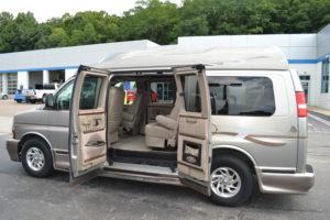 Hi top Conversion van with Doors on Both sides