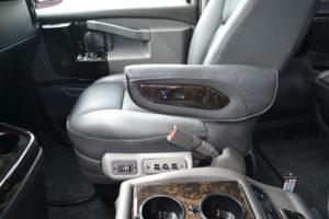 Explorer Van Front Passenger Seat
