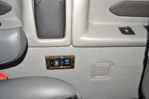 Explorer Van Rear USB Port