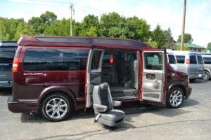 Explorer van Removable Center Seats