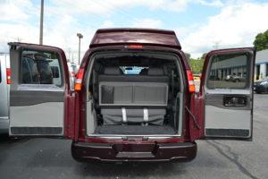 Explorer Van rear Cargo Area