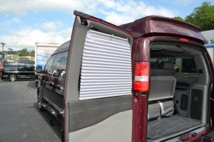 Explorer Van Door Shades