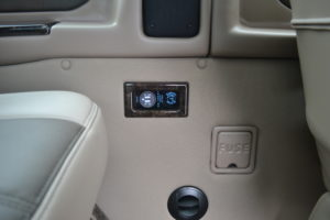 Rear USB Charging Ports