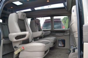 Explorer Custom Van Seats