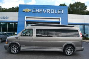 2018 Chevy Express 4x4 9 Passenger