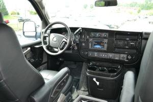 Explorer Van Driver Area