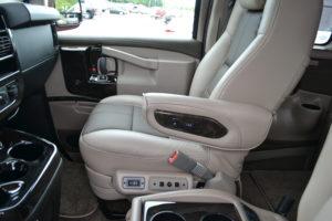 Passenger Seat Explorer Van
