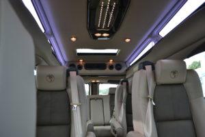9 Passenger Seating Explorer Van