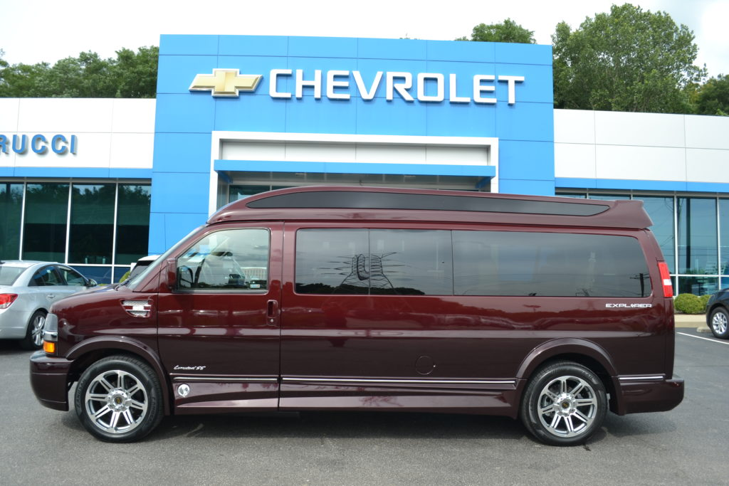 New 9 Passenger Explorer Conversion Van
