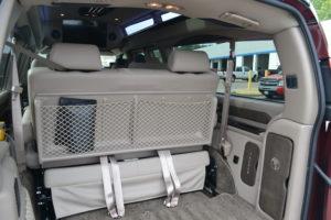 rear cargo room conversion van