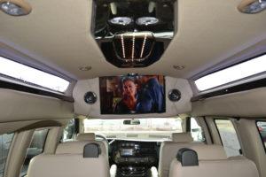 9 Passenger Conversion Van Entertainment
