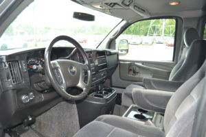 Driver Area 2011 AWD Conversion Van