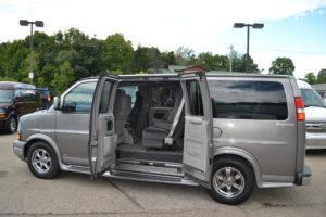 AWD Explorer Van with Double Doors