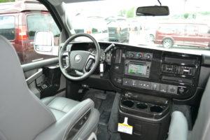 AWD 9 Passenger van