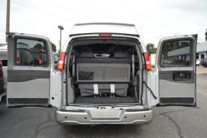 Rear Cargo Area Explorer Van