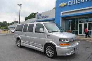 2019 Chevrolet Express Explorer Limited X-SE k1342463 Silver Ice Metallic Explorer Conversion Van Mike Castrucci Chevrolet Conversion Van Land