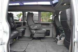 Removable Center Seats Explorer Van Company