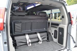 Express Van rear cargo area