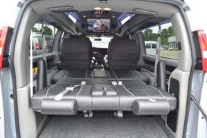 Rear Bed Conversion Van