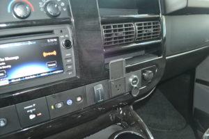 GM Front Dash with Denali Wood Trim