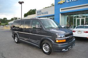 four wheel drive custom van
