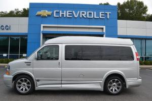 Silver Ice Metallic Express Conversion Van