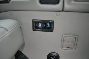 Explorer Van options USB Ports