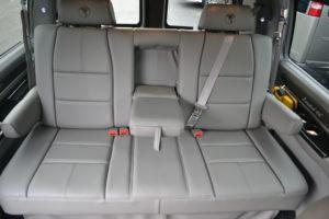 Explorer Van Seating rear Sofa