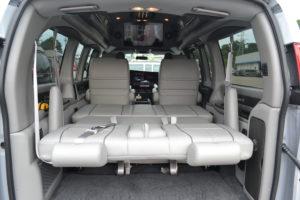 Conversion Van Rear Bed
