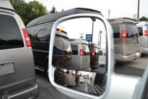 Chevrolet Express Side Blind Spot Mirror