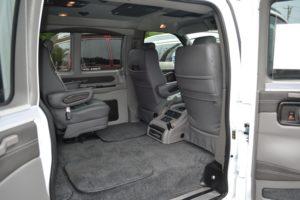 Explorer Van Quick Release Seats