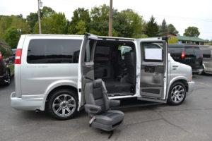 Explorer Van Removable Captain Chairs