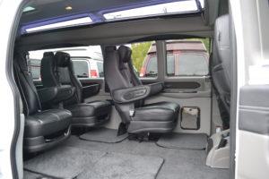 Explorer Van Quick Release Seating