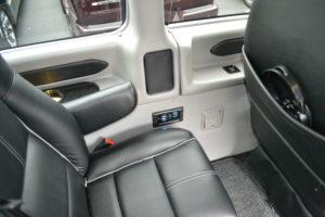 rear USB port