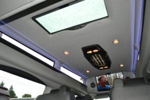 Interior Explorer Luxury Van