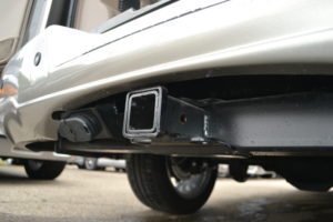 Class II Hitch with wiring, tow a Camper, Large Boat, or a Trailer and take the Family.