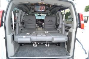 Rear Sofa Explorer Van