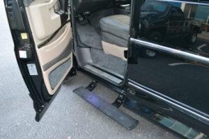 Powere Running Board Explorer Van option