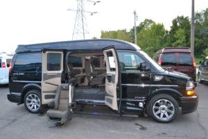 Explorer Van Removable Seats