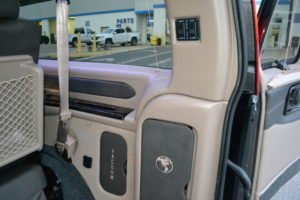 Rear Power Sofa Control Explorer Van