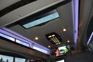 Black 9 Passenger Explorer Van