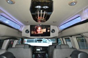 Explorer Van Interior TV