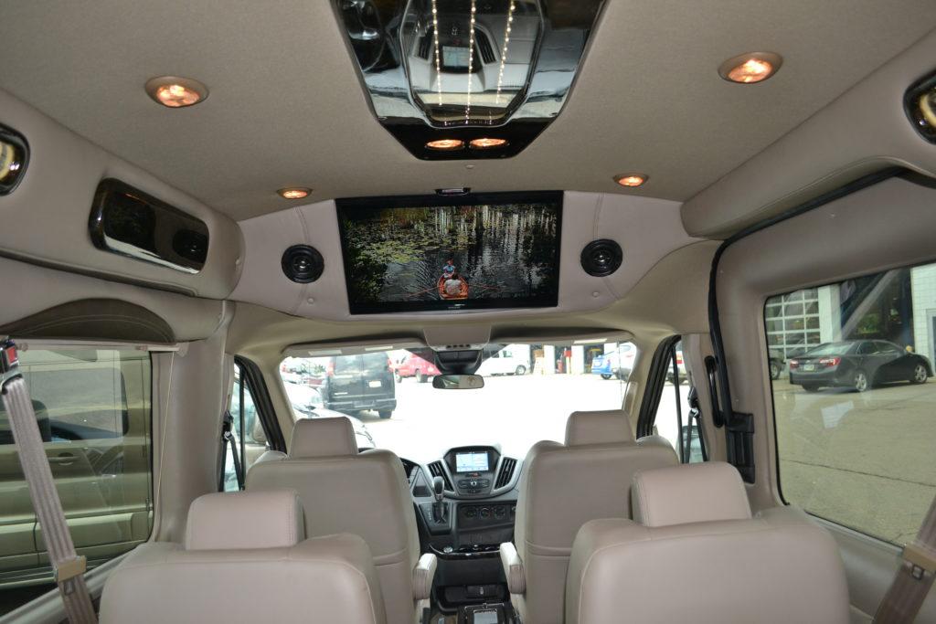 Ford Transit Passenger Van >> 2018 Ford Transit 250 MR 9 Passenger - Explorer Limited SE - Mike Castrucci Conversion Van Land