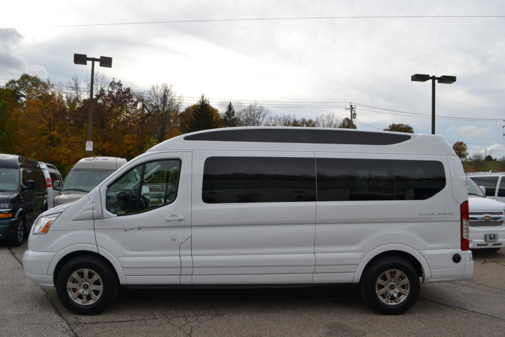 New Ford Conversion Van 9 Passenger