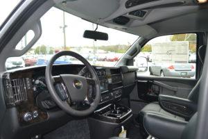 Explorer Van Front Seat