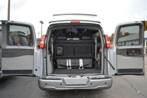 Vehicles with Cargo & Passenger room.