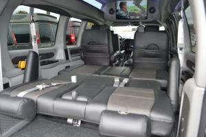 Rear Cargo Options Explorer Van Company