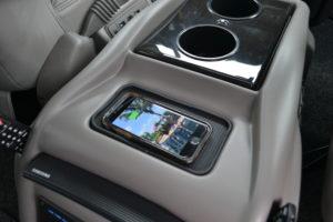 Wireless Charging Pad Explorer Van Options